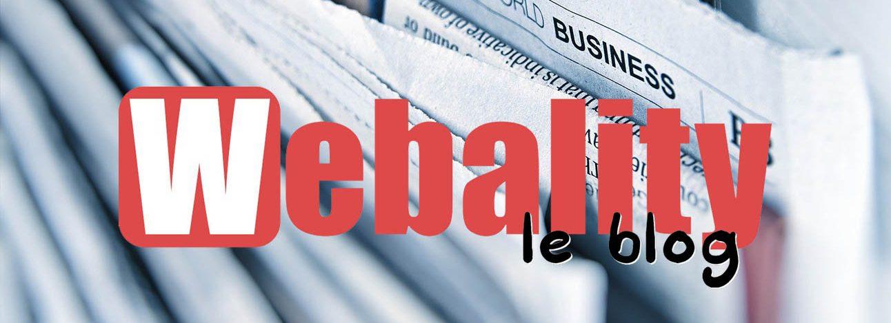 Blog Webality